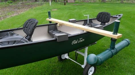 canoes that can take a motor how to make canoe stabilizers canoe stabilizer ideas