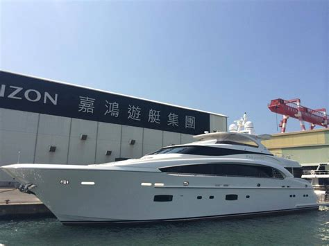 horizon boats for sale perth new horizon rp110 superyacht paradise launched