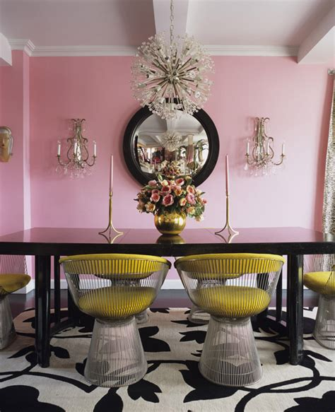 furniture mesmerizing pink dining room set cool pink 12 ways to decorate with the color pink stylecaster