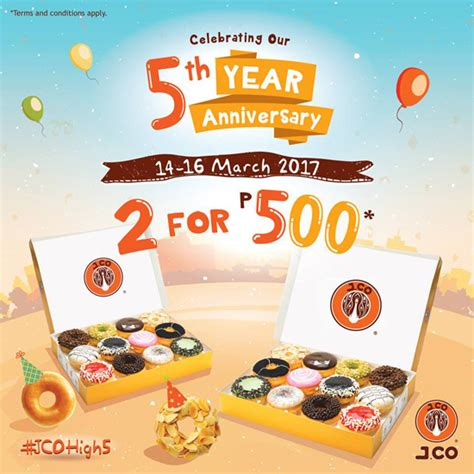 J Co Donuts And Coffee j co donuts and coffee anniversary promo spot ph