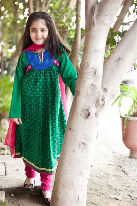 pakistani dress designs  girls maria  kids