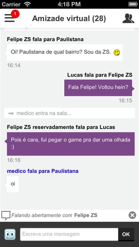 chat de bate papo do bate papo uol para iphone