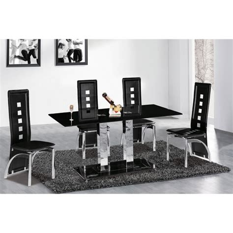 Cheap Glass Dining Table And 6 Chairs Black Glass Dining Table And 6 Chairs Cheap Remarkable Black Glass Dining Room Sets 13 For Your