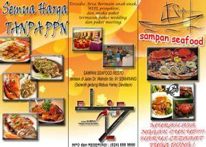 membuat brosur restoran tugas brosur restoran titania stephani