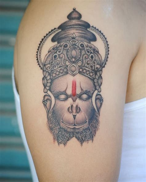 hanuman tattoo the 25 best ideas about hanuman on