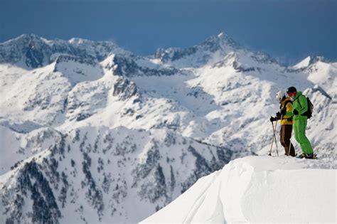 backcountry skiing  baqueira beret   europes