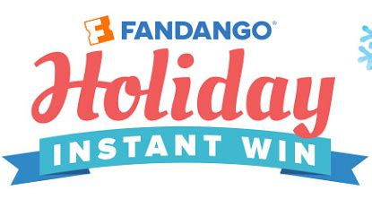 Instant Win Games Free - fandango holiday instant win game 29 605 winners
