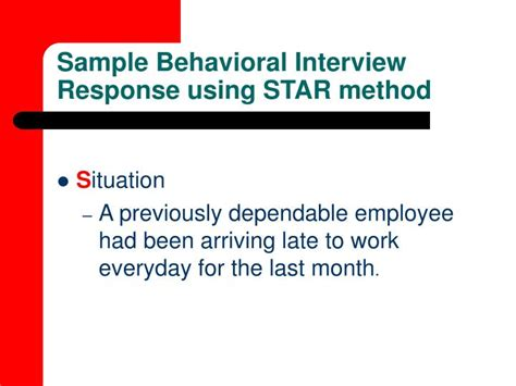 how to answer a star interview question youtube