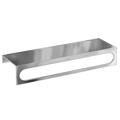 Britton Bathrooms 35cm Stainless Steel Shelf Towel Bathroom Stainless Steel Shelves