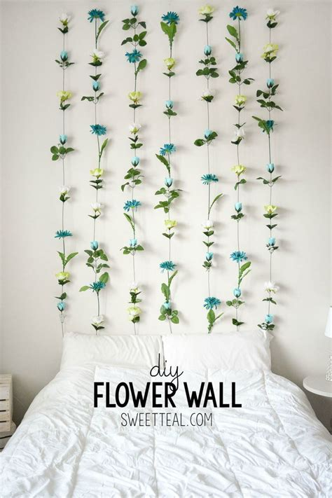 flower decorations for bedroom 25 best ideas about diy bedroom decor on diy