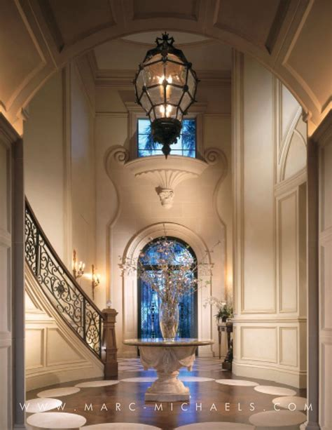 Foyer Lights 8 Foot Ceiling by Classic Mediterranean Foyer Wrought Iron Staircase High
