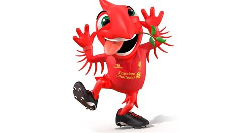 Liverpool Bird liver bird character by gm 3d for liverpool football club
