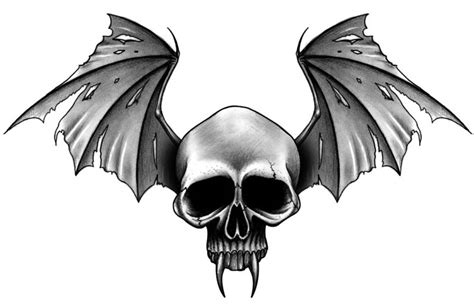 skull with wings tattoo designs 25 skull designs