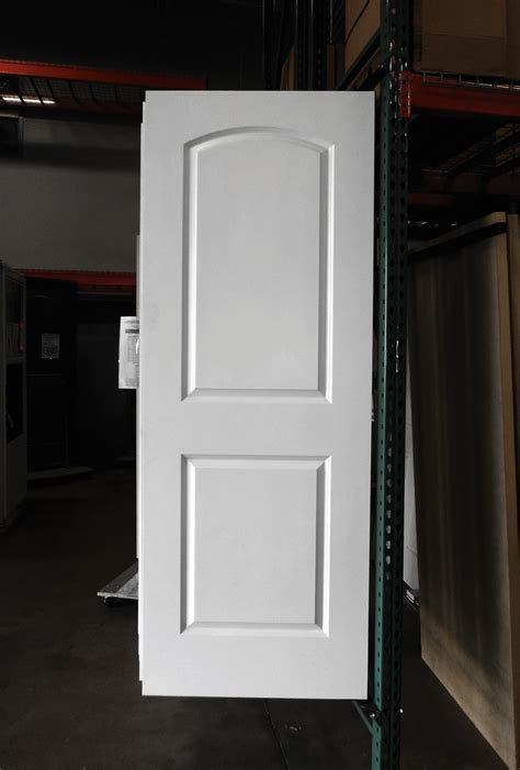 Interior Hollow Doors 2 Panel Painted White Arch Smooth Masonite Hollow