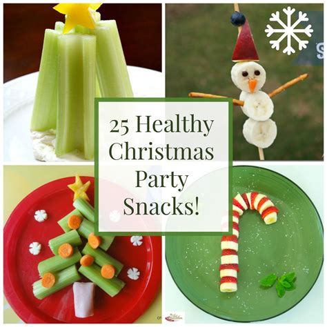 25 healthy christmas snacks and party foods healthy