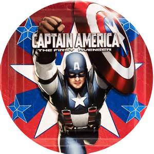 captain america cake image this party started