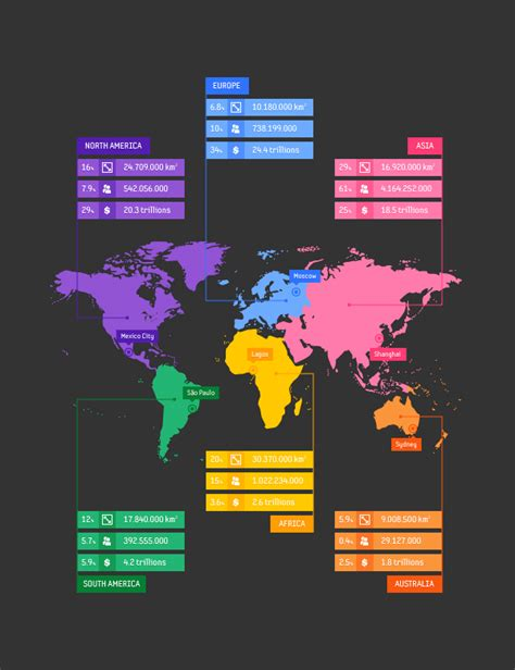 tutorial typography map how to create a vector map infographic in adobe illustrator