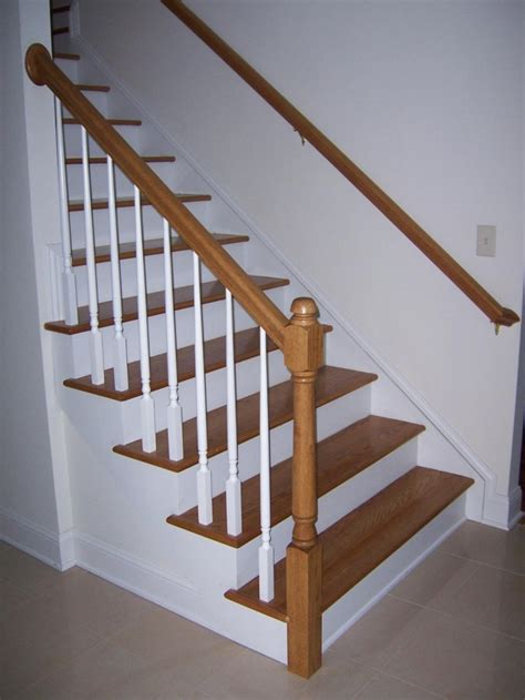 Stair Rail Pole Decor Tips Cool Newel Post For Decorate Your Staircase
