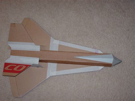 cardboard glider template girlshopes