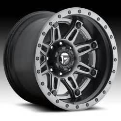 Truck Wheels Custom Fuel D232 Hostage Ii 2 Pc Anthracite Matte Black Custom