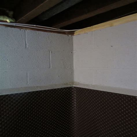 how to vapor barrier basement walls insulate basement wall or in frame doityourself