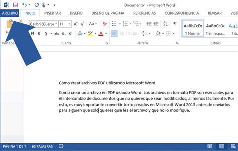 imagenes crear pdf como crear archivos pdf utilizando word