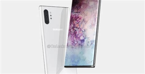 galaxy note 10 pro renders leak no bixby key or 3 5mm port here either