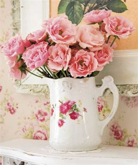 vintage rose home decor rose patterned home decor