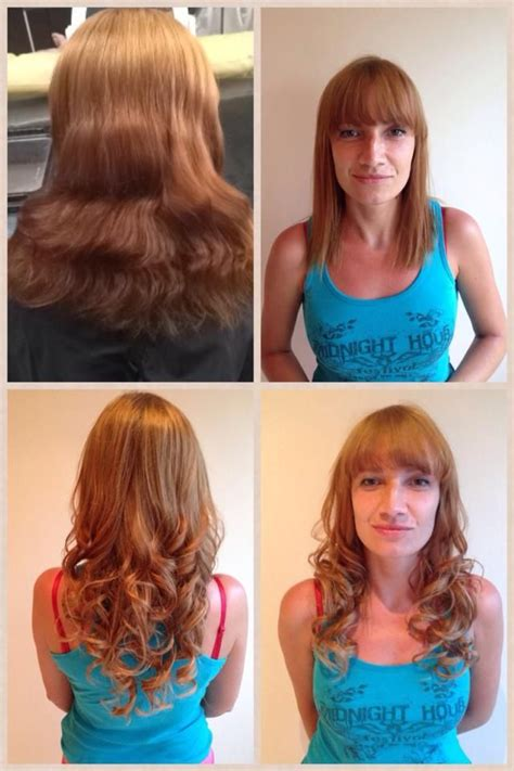grey hair extensions before and after 1000 images about balmainized on pinterest