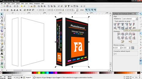 Inkscape Tutorial 3d Box | 3d box part 2 inkscape tutorial for beginners youtube