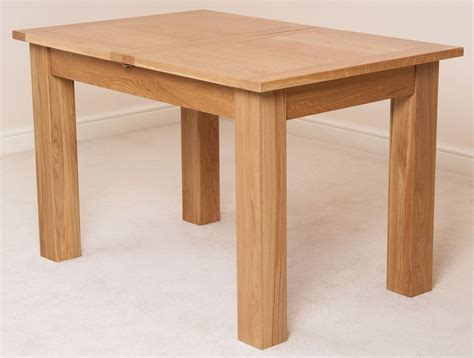 Solid Oak Extendable Dining Table Hton Solid Oak Wood Medium 120cm Extending Table Wooden Dining Room Furniture Ebay
