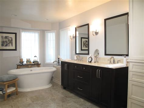 Modern Traditional Bathrooms by Modern Bathroom With Traditional Twist Traditional