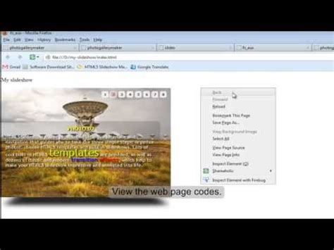 tutorial flash html5 tutorial how to embed html5 slideshow with flash