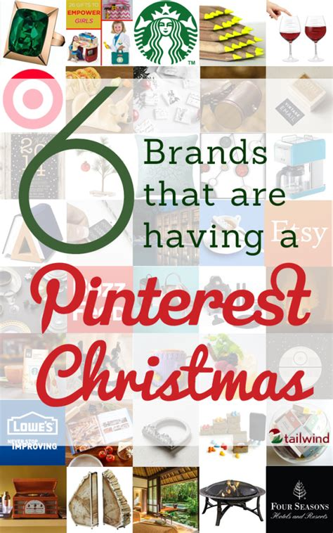 6 brands that are having a quot pinterest christmas quot