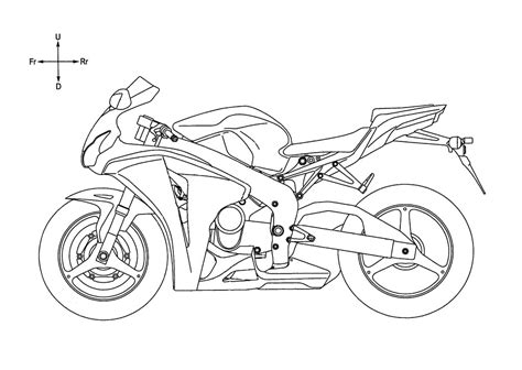 motorcycle stencils templates motorcycle honda v4 superbike engine revealed in