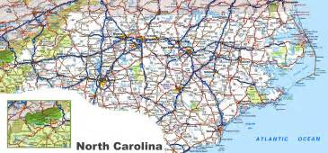 carolina road map