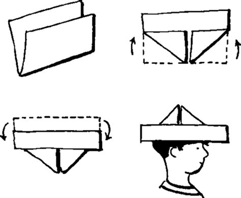 How To Fold A Paper Hat - hat with paper airplane grosir baju surabaya