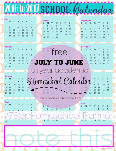 Deal Calendar Free 2016 17 School Calendar Free Homeschool Deals