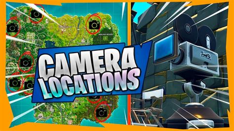 where fortnite cameras fortnite in front of 7 different cameras