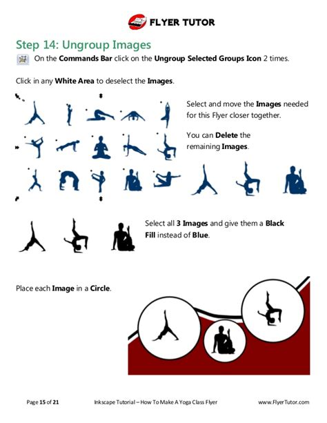 Make A Yoga Flyer