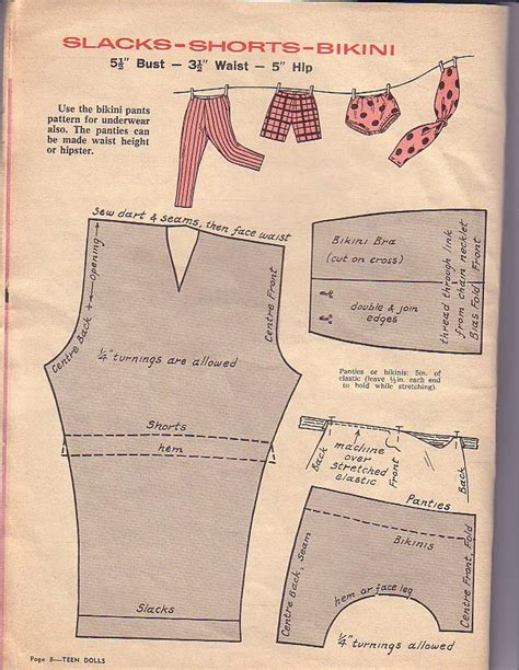 doll clothes pattern books herbie s doll sewing knitting crochet pattern