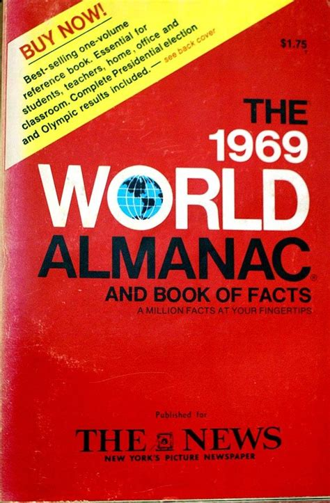 the world almanac and book of facts 2018 books the world almanac and book of facts 1969 1950 1979