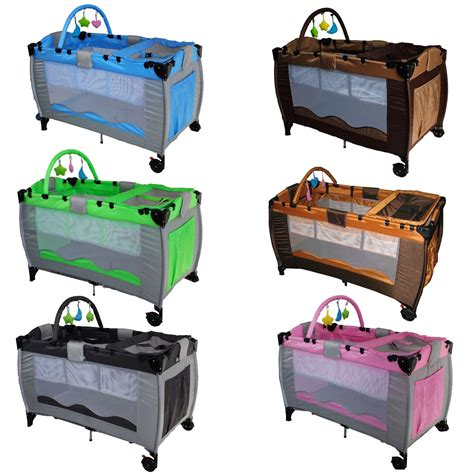 travel infant bed infant baby child travel bed cot bassinet play pen playpen