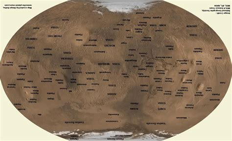 mars map bryan s views of mars