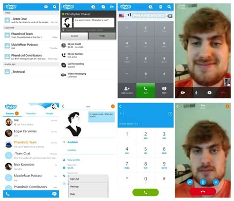 skype for android tablet apk skype for android updated to version 4 0 with a whole new user interface and features axeetech