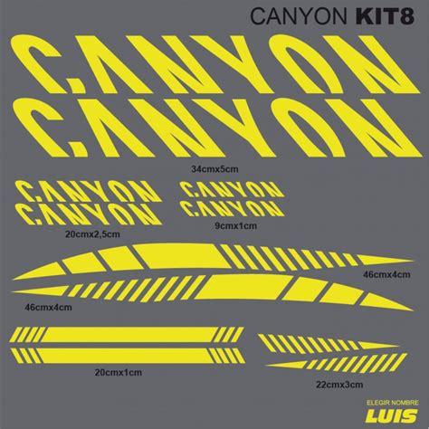 Canyon Bike Aufkleber by Canyon Kit8 Aufkleber F 252 R Fahrrad Vinyls Abziehbilder