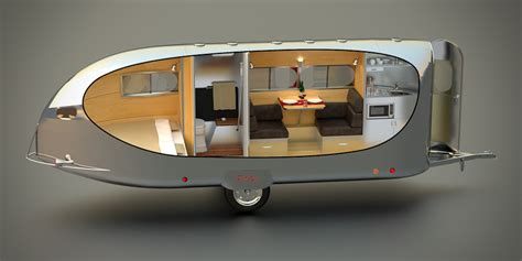 smallest cer van with bathroom airstream the small trailer enthusiast