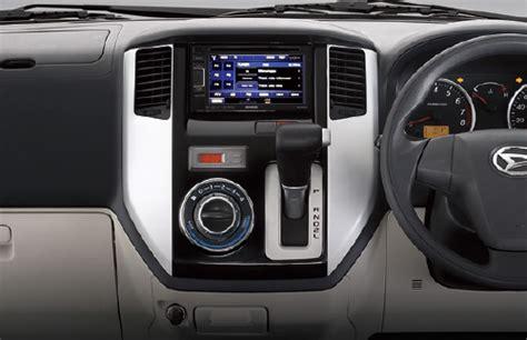 Daihatsu Luxio Interior by Luxio Product Daihatsu Indonesia