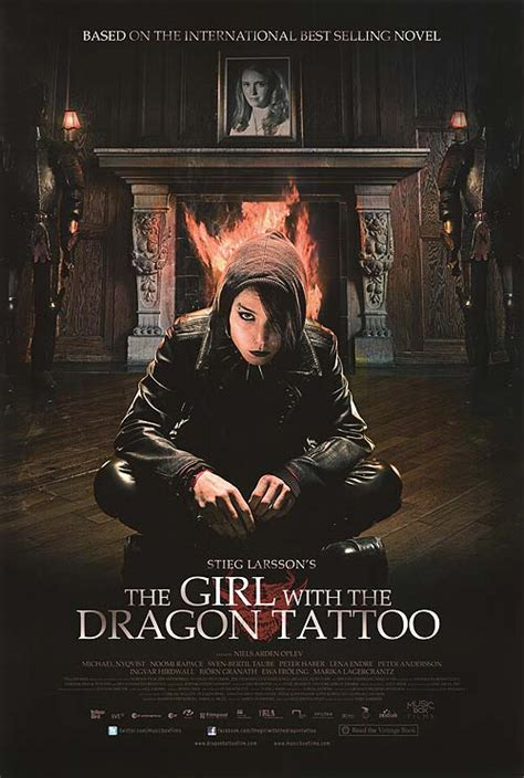dragon tattoo us movie girl with the dragon tattoo movie posters at movie poster