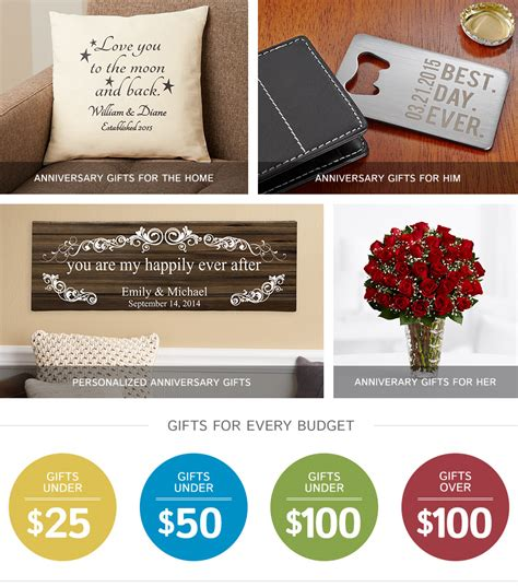 Wedding Anniversary Ideas Gifts by Anniversary Gift Ideas For Www Imgkid The